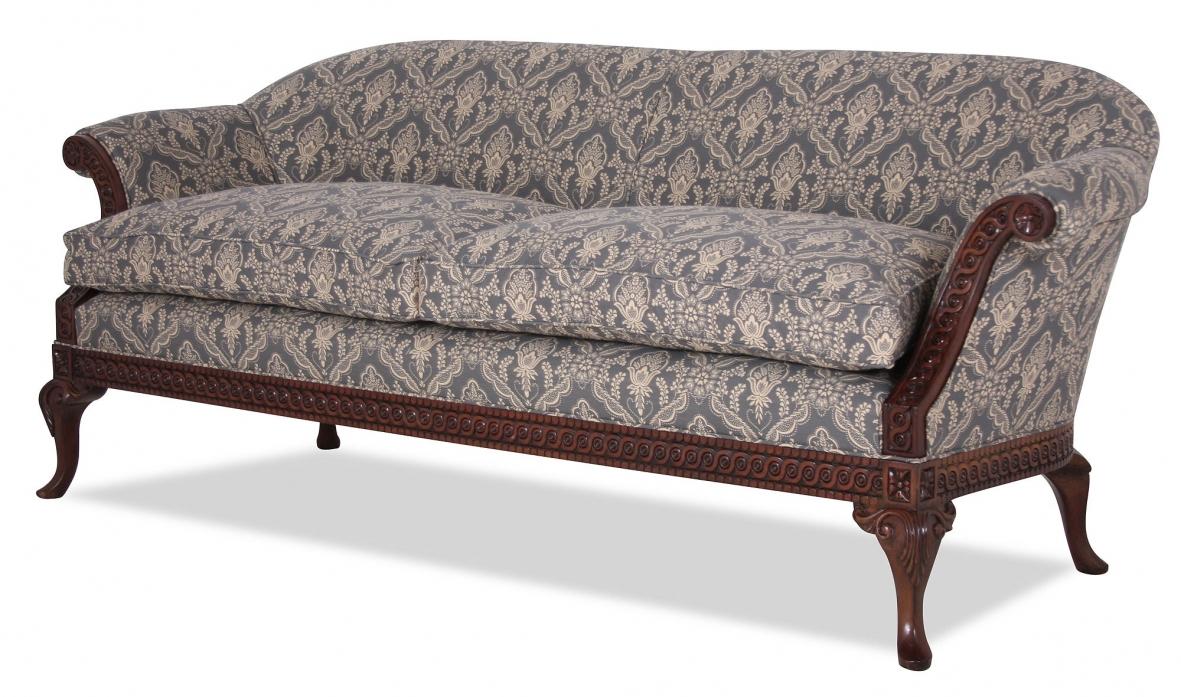 Regency Style Sofa Late 19th Century American Regency