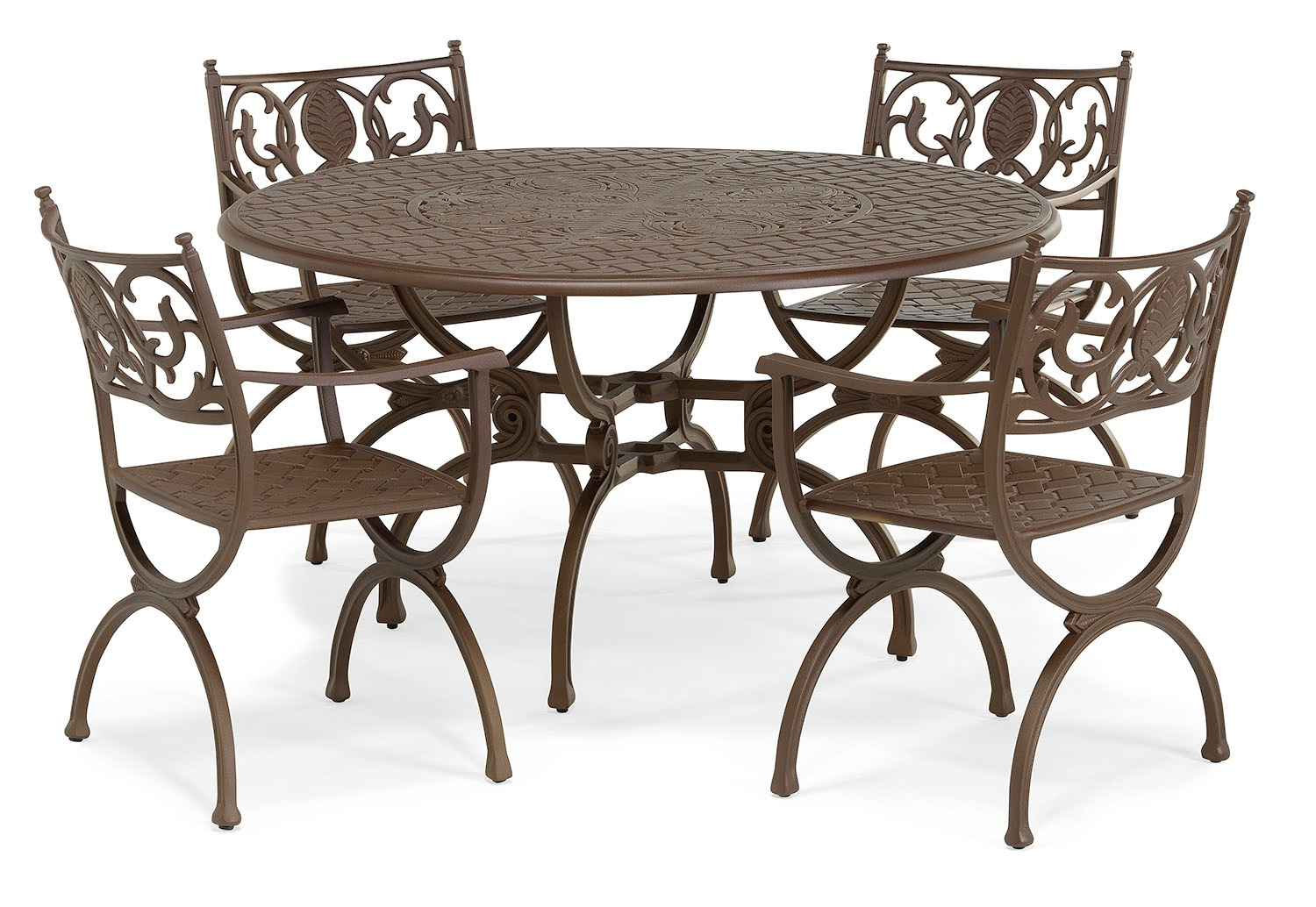 Artemis metal round dining set