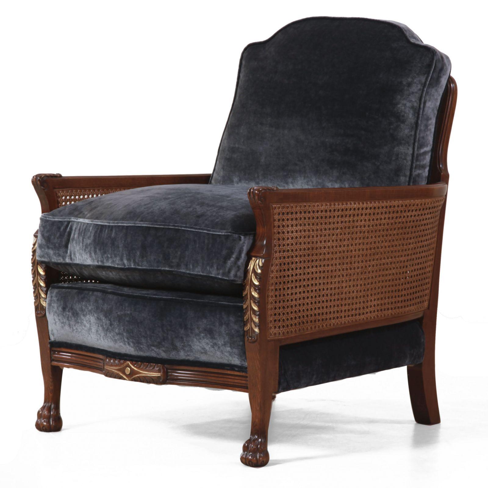 Italian frame Bergere - 2.5 seat sofa + Chair