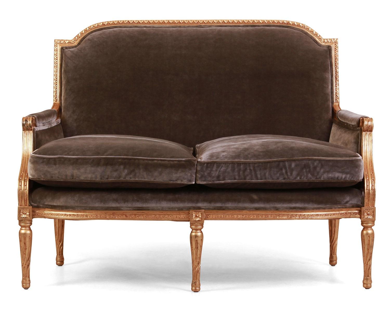 Alexander giltwood sofa in GP&J Baker fabric