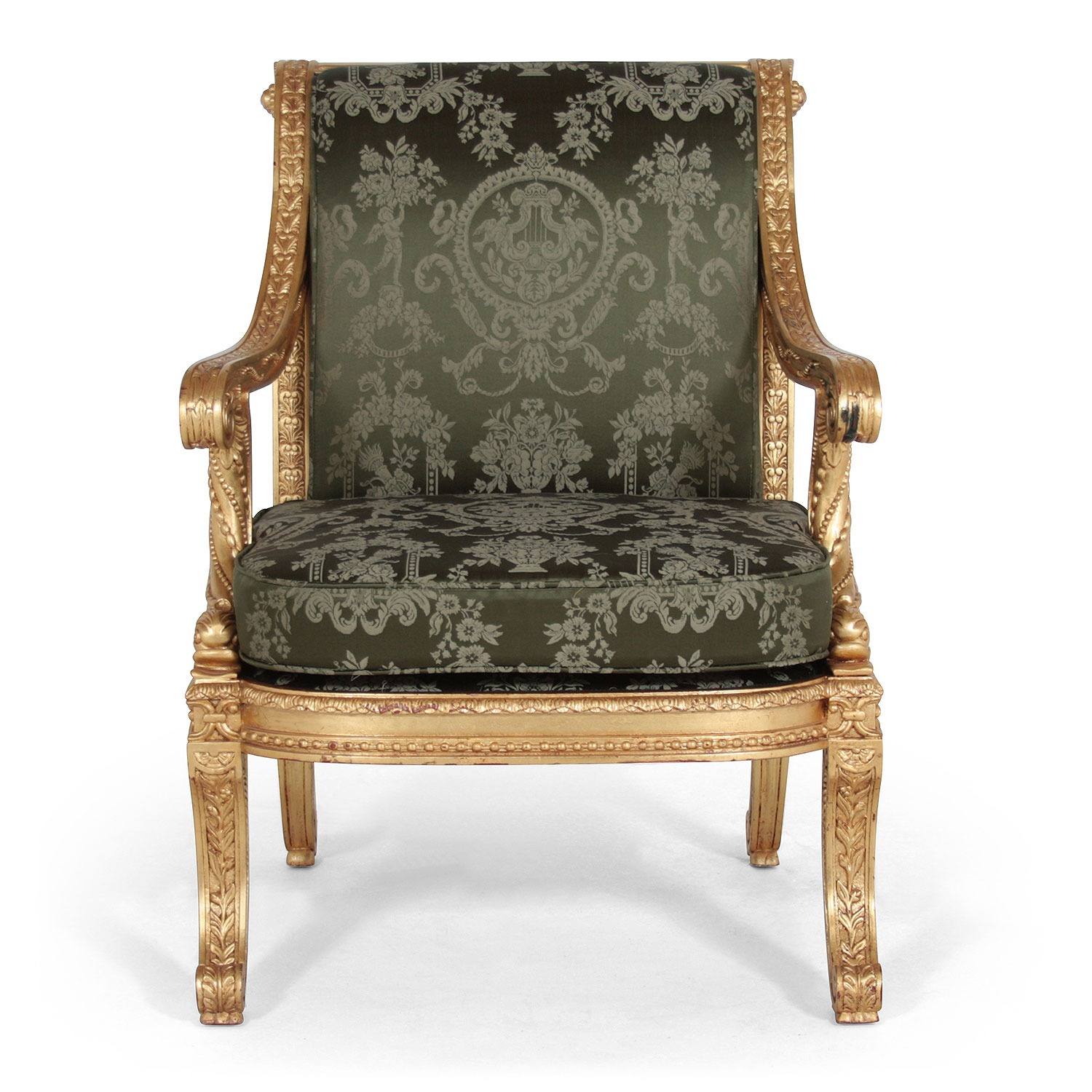 Louis French 18th Century style Formal Chair