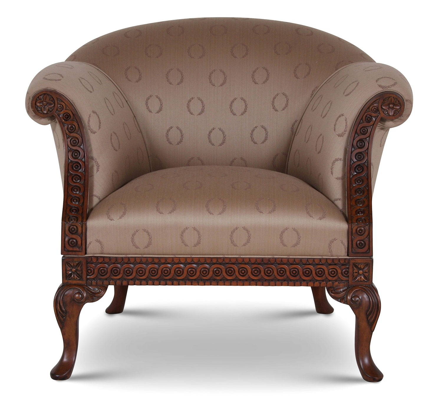Pride Regency style chair in Viyella Laurel
