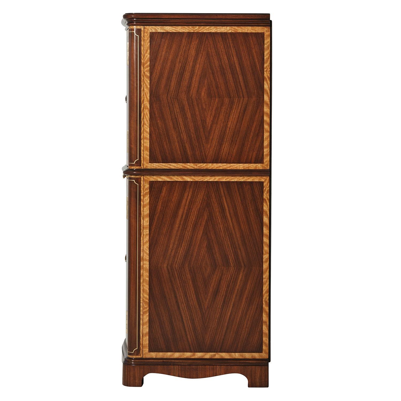 Mahogany Jewellery Cabinet