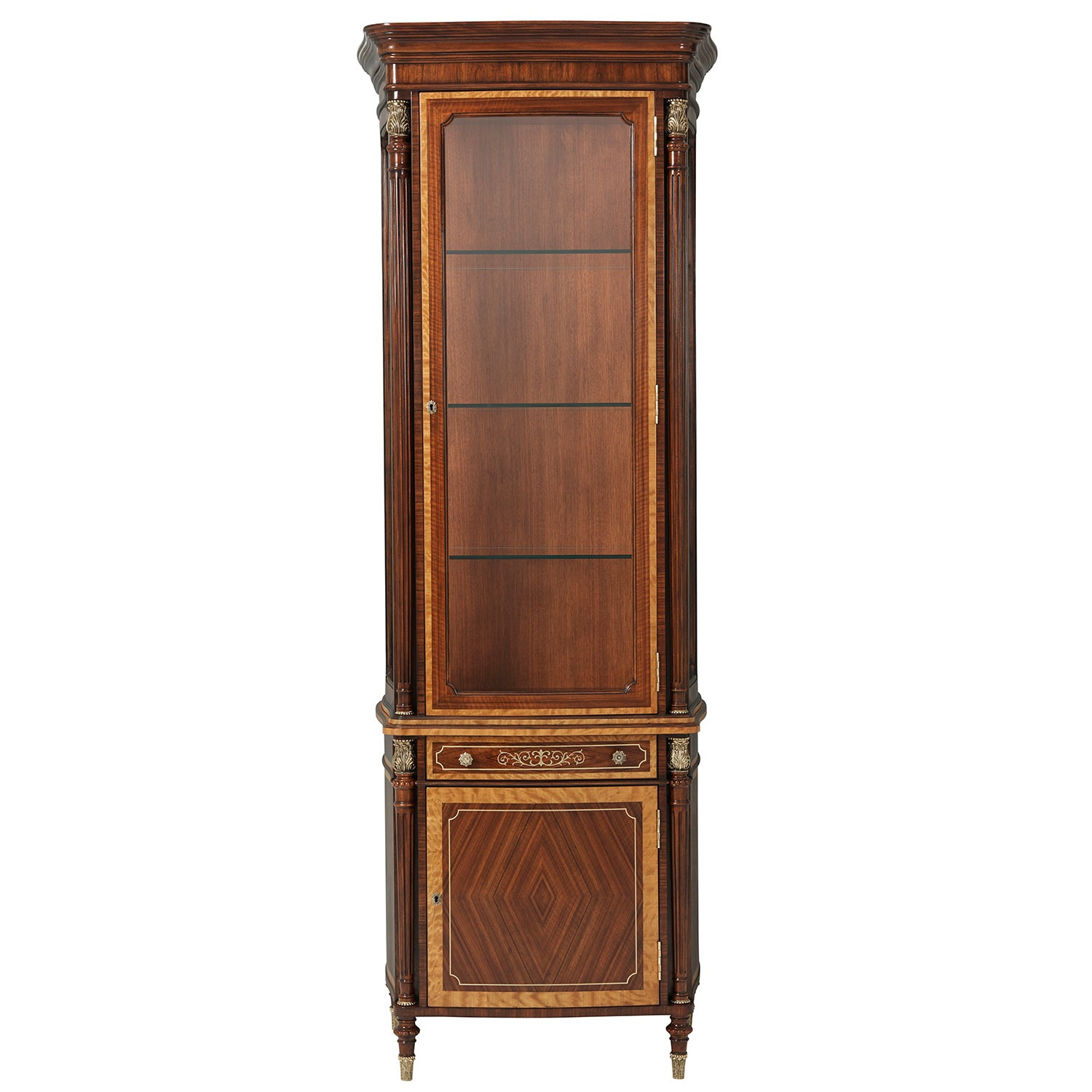 Left Facing Display Cabinet