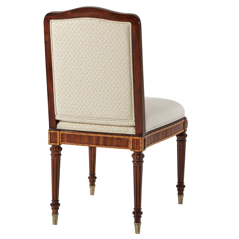 Upholstered Dressing Chair