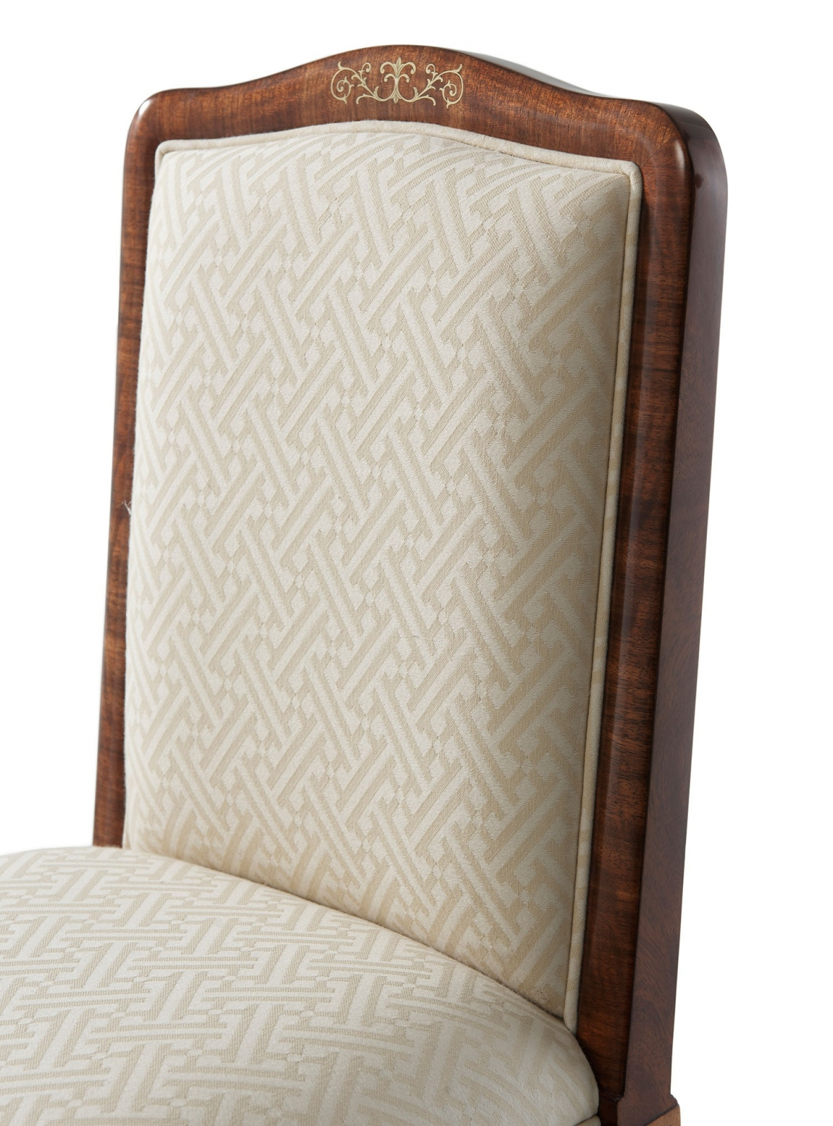 Upholstered Dressing Chair