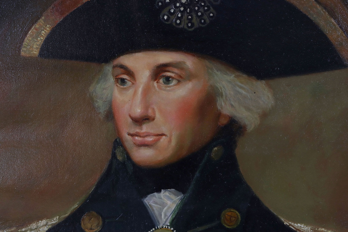 Oil Painting after 'Horatio Nelson, 1799' by Lemuel Francis Abbott