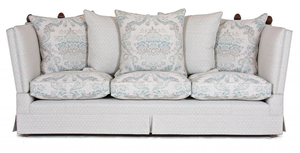 Tudor Knole 3 seat sofa in promotional fabric