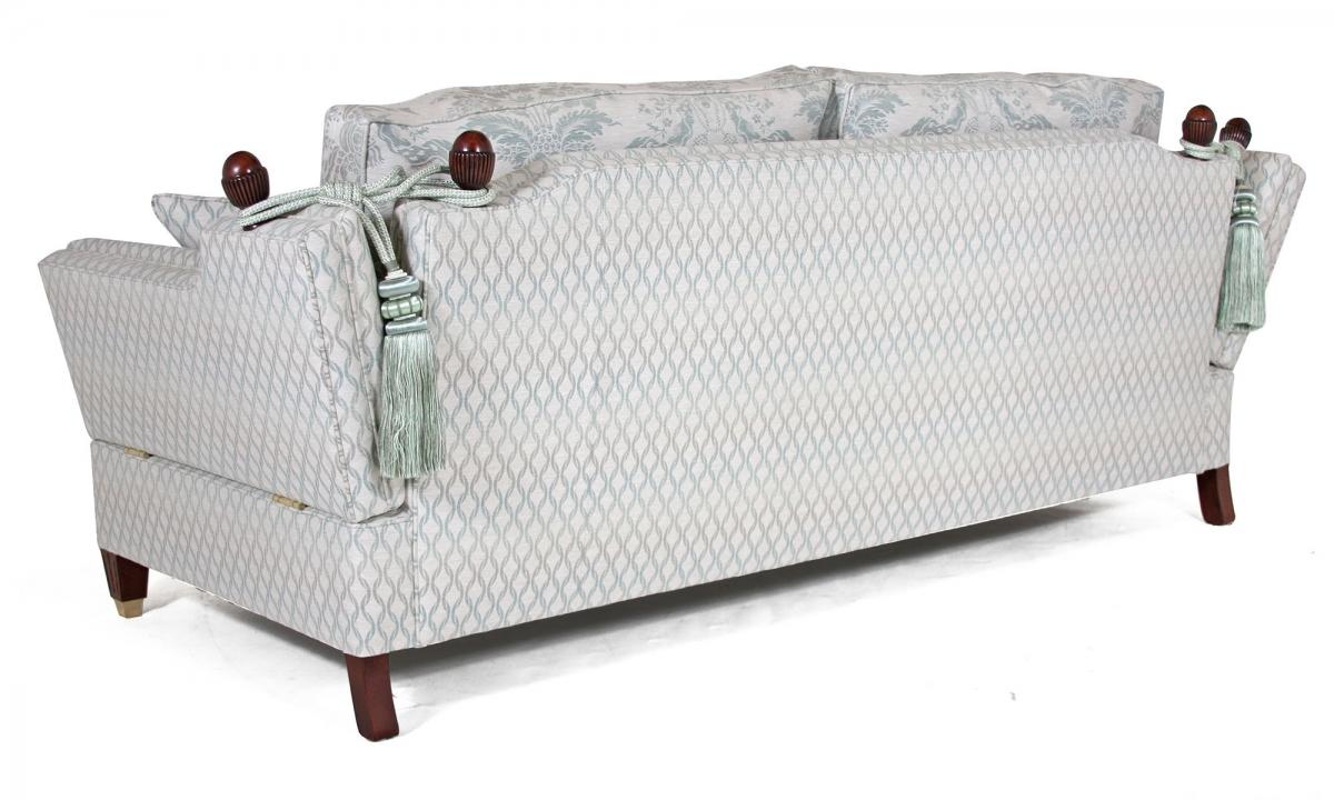 Regency Knole 3 seat sofa in Moloko