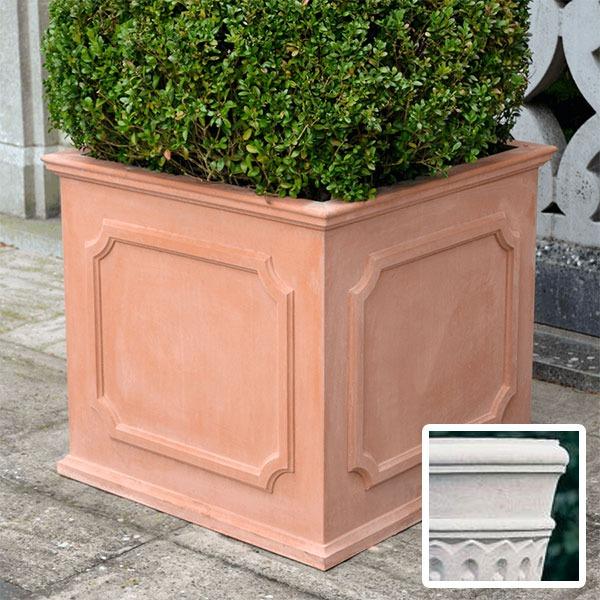 Heritage square stone planter (Large) - Portland