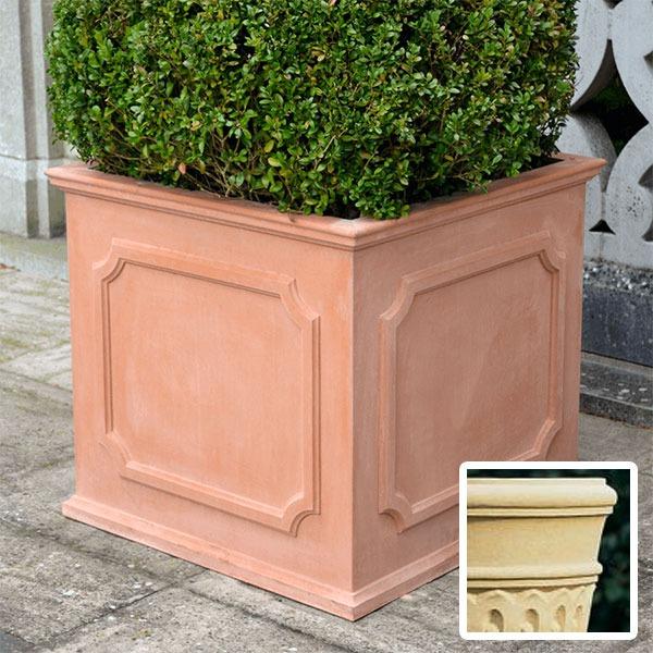 Heritage square stone planter (Large) - Bath