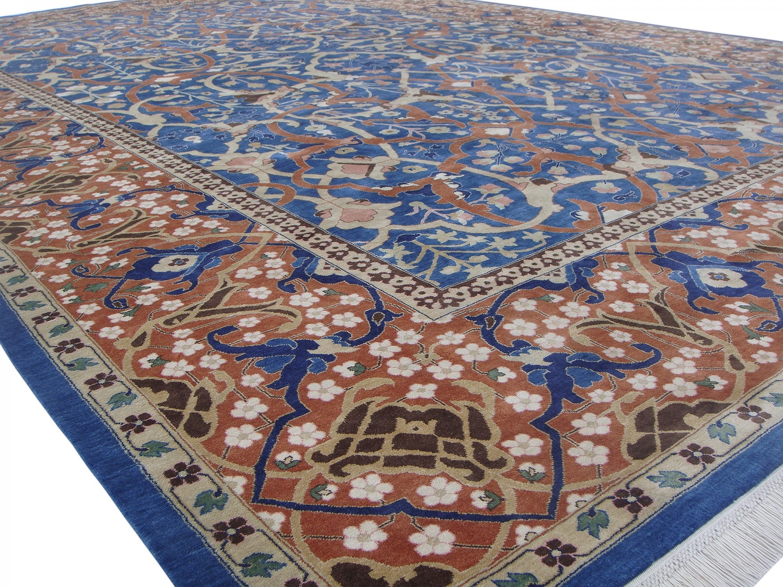 Petag Tabriz silk pile carpet