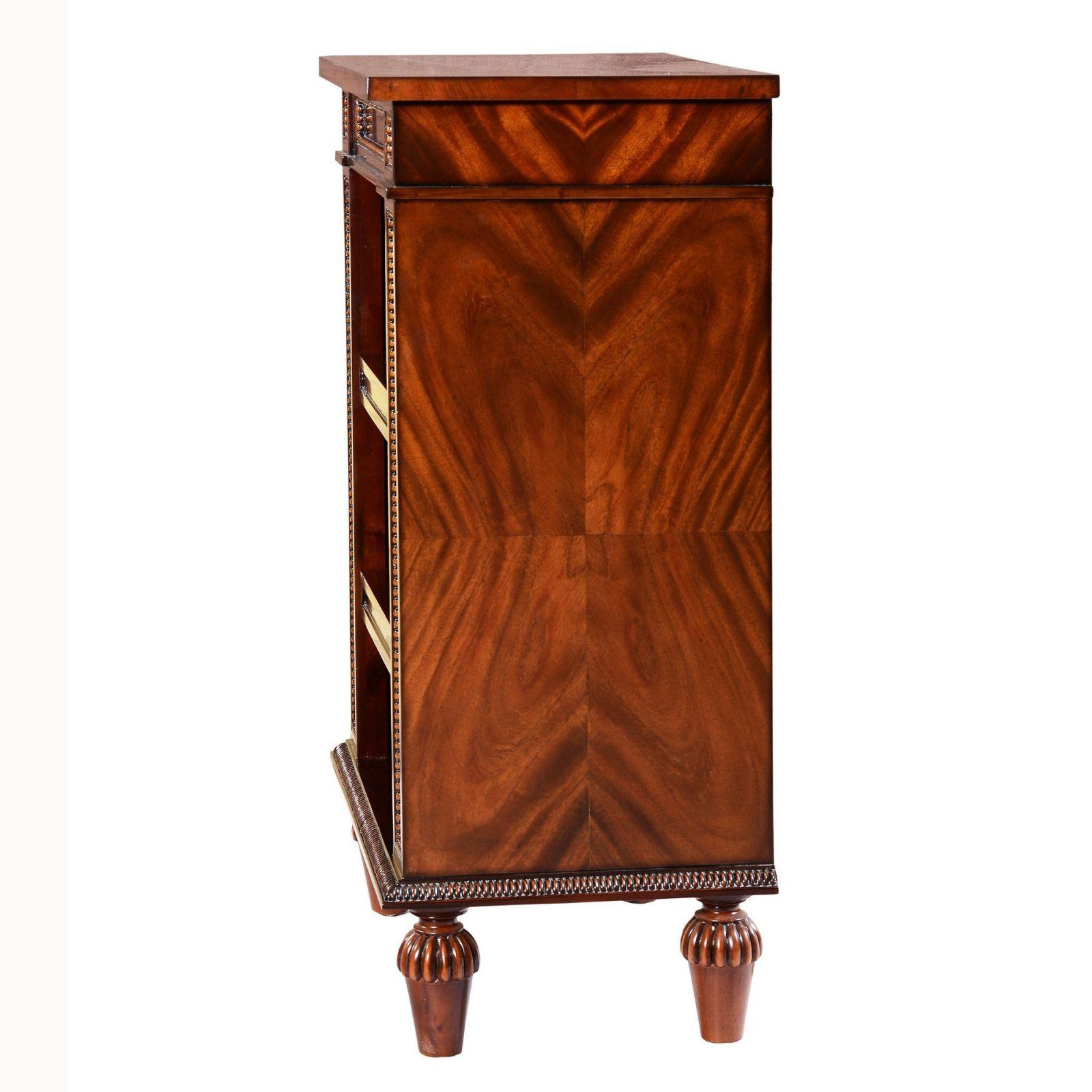 Regency Style Mahogany open Bookcase - 24in