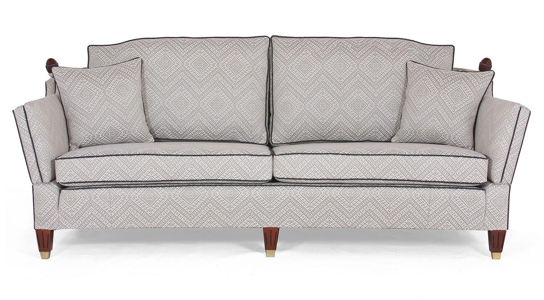 Regency Knole 3 seat sofa in Inca Yorkstone