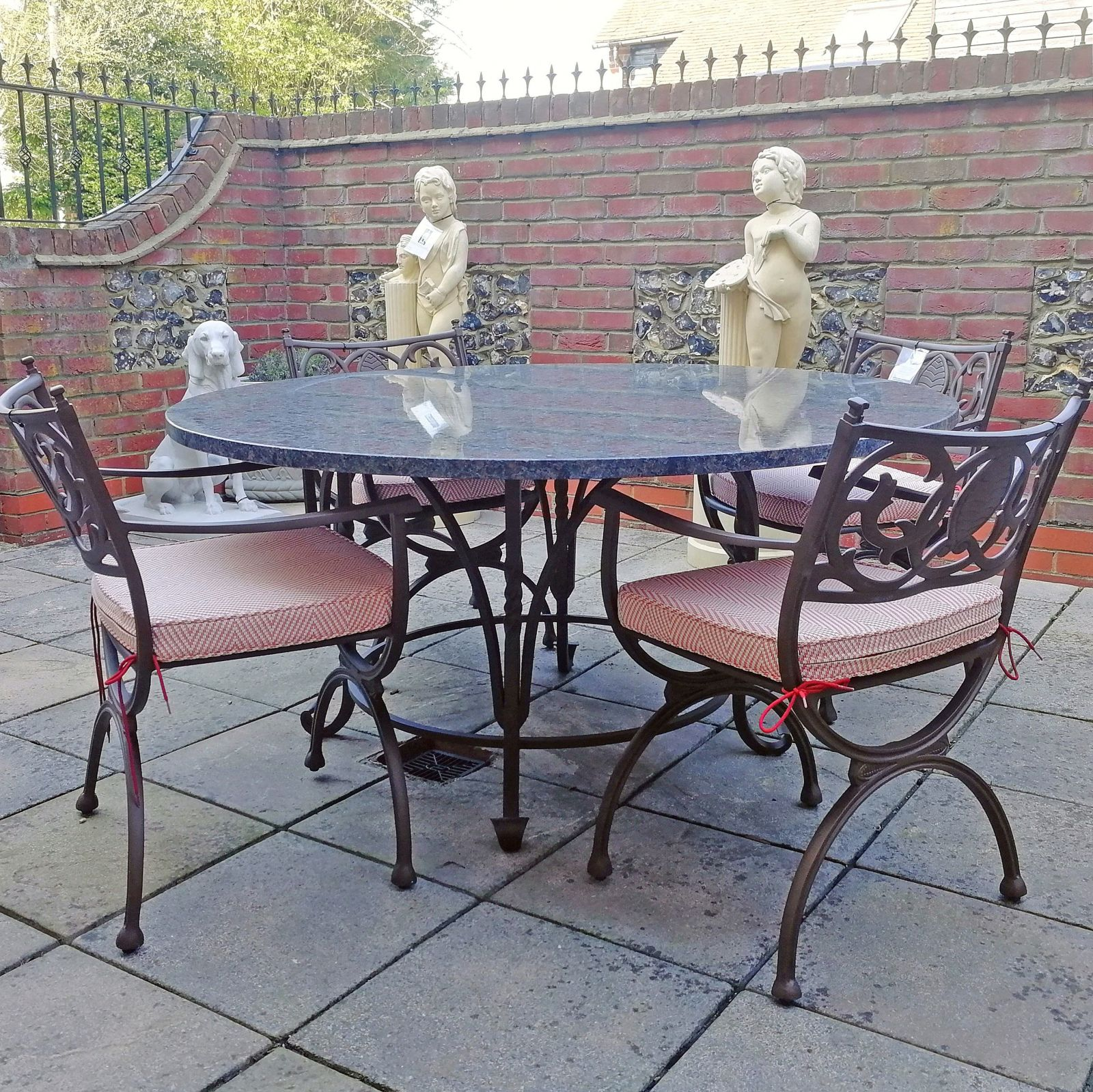 Bespoke granite outdoor tables made to order