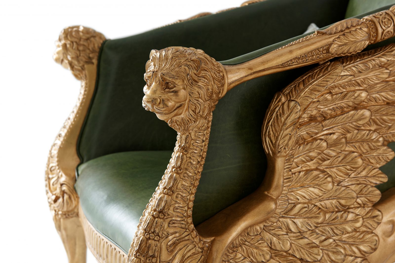 A Unique Upholstered Armchair
