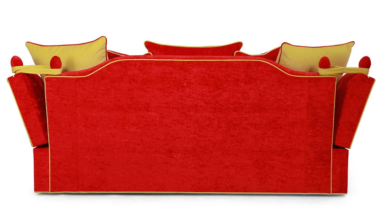 Penelope Knole 3 seat sofa in Salsa velvet