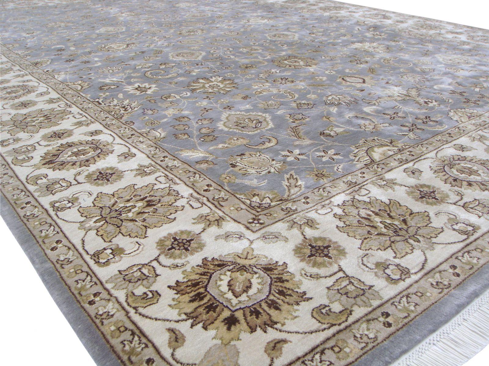 Shah Abbas design Silk rug