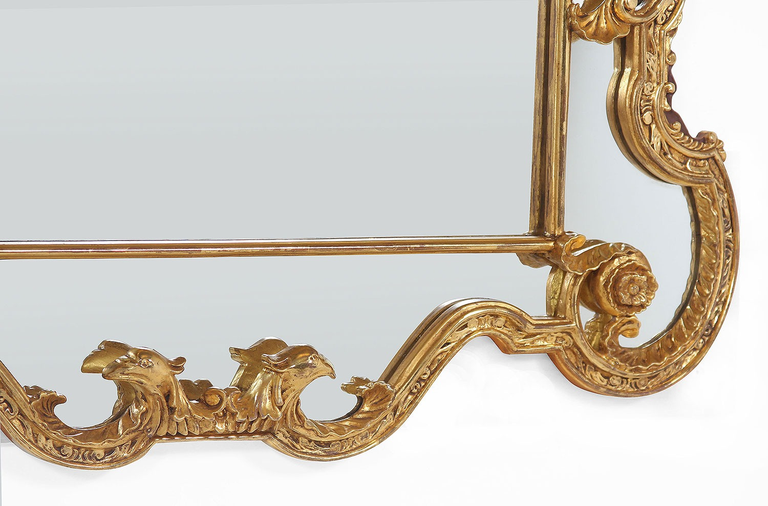 Period water gilded mirror