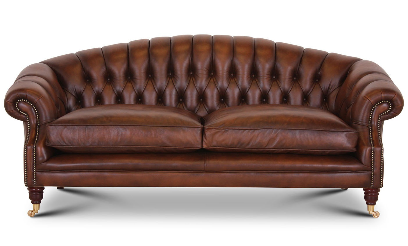 Buckingham 3 seat sofa in Antique Autumn Tan