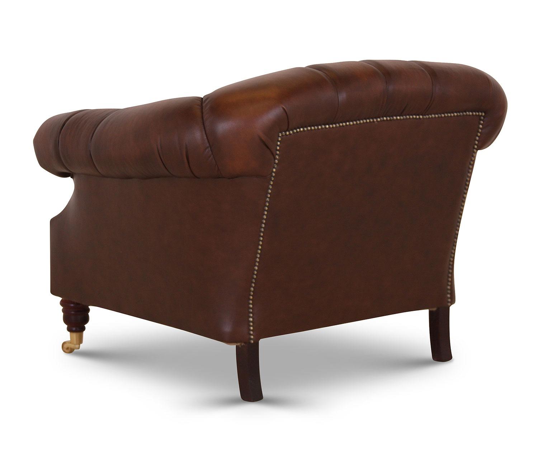 Buckingham chair in Antique Autumn Tan