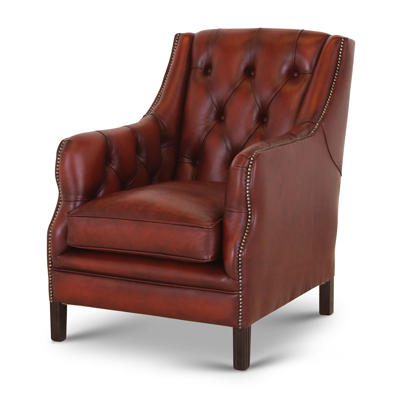 Duke chair in Antique Light Rust