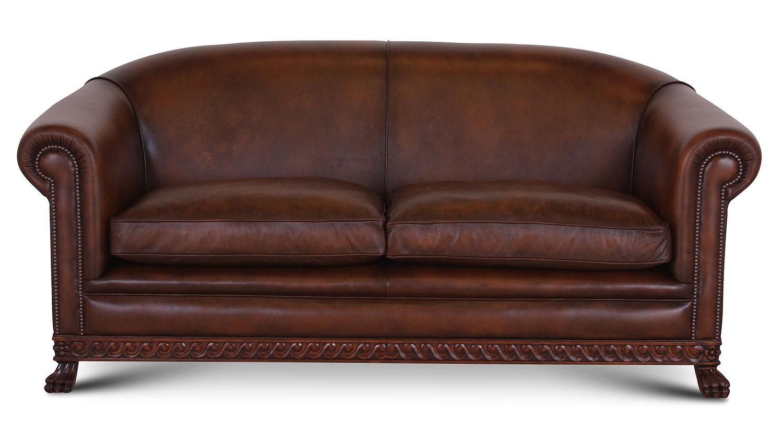 Nottingham sofa in Antique Autumn Tan