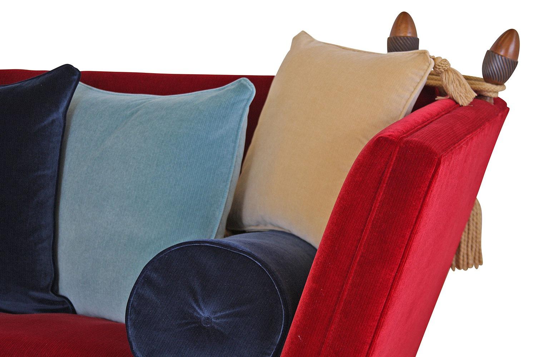 Aston Knole medium sofa in Riffle velvet
