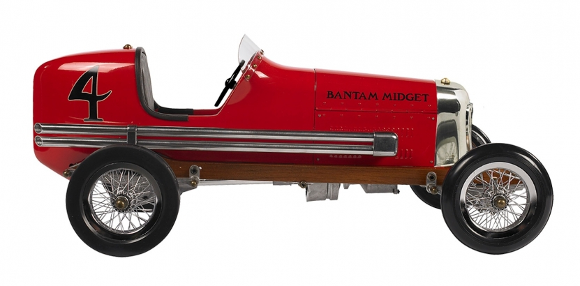Bantam Midget model racing car - Red