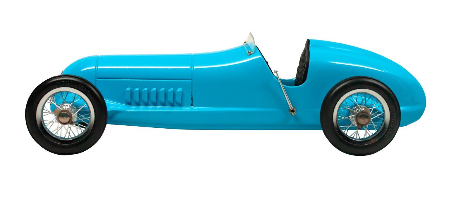 Blue Racer - desk model car