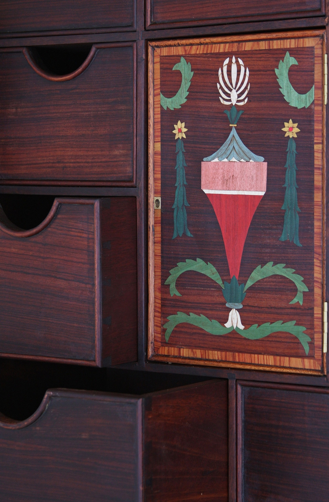 18th Century style Cabinet on stand