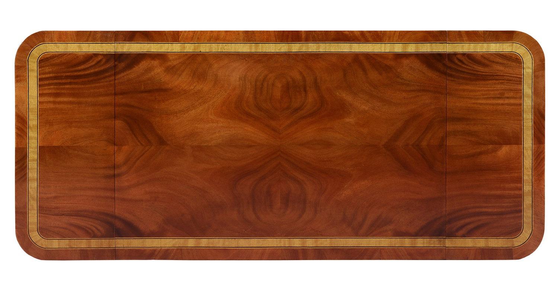 Sheraton style mahogany sofa table