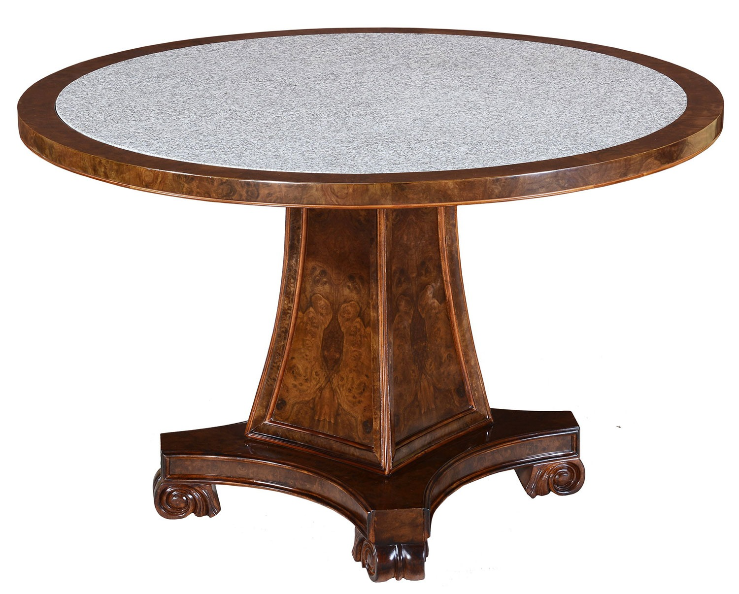 Robert Adam style round dining table