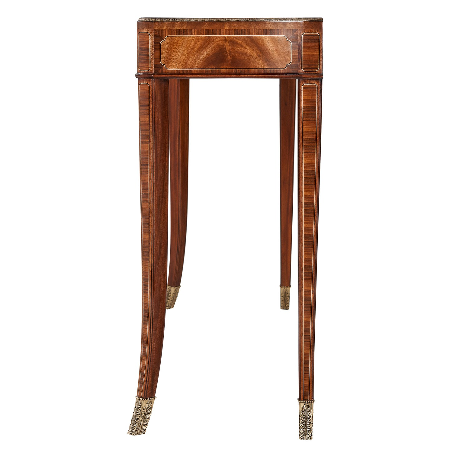 Marquetry and inlay Console Table