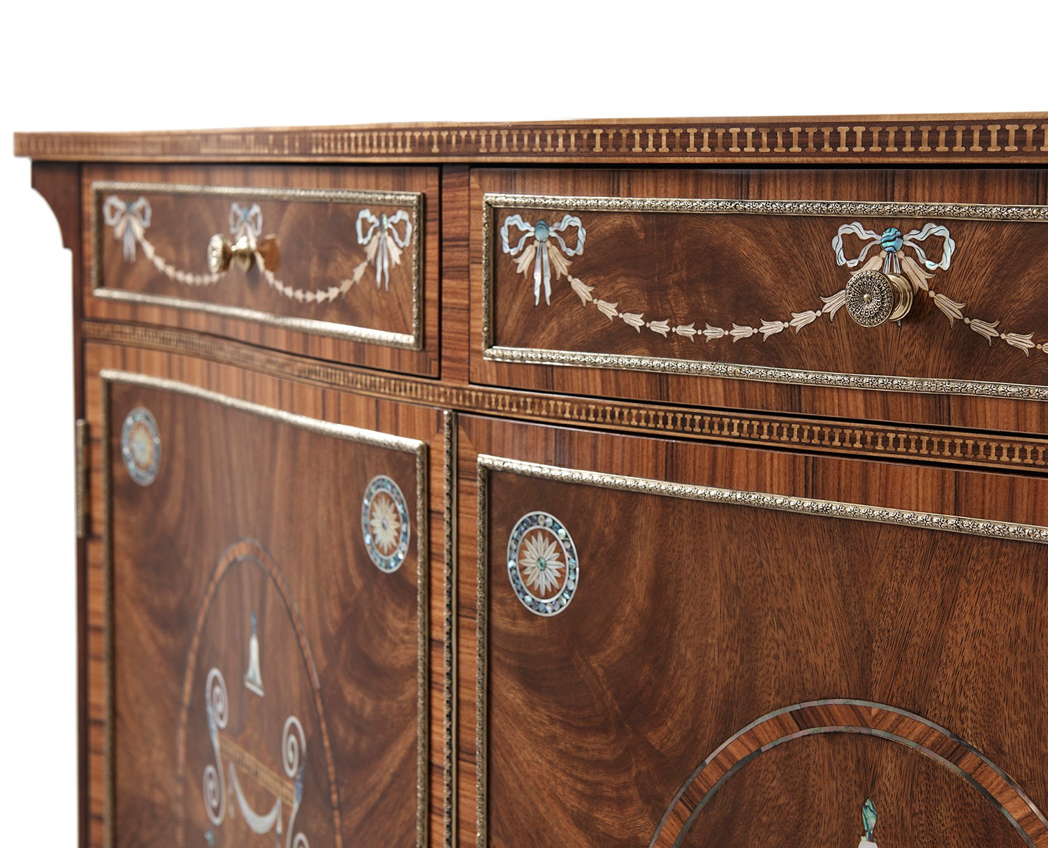 Neoclassical Chest with Mother of Pearl Inlay
