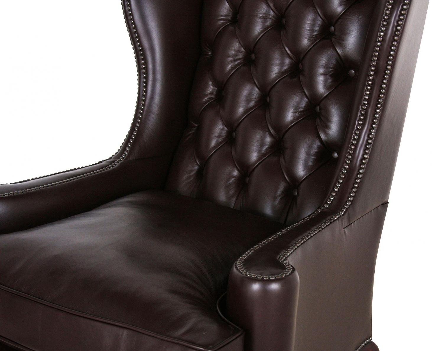 Melbury Colorado Leather Wing Chair