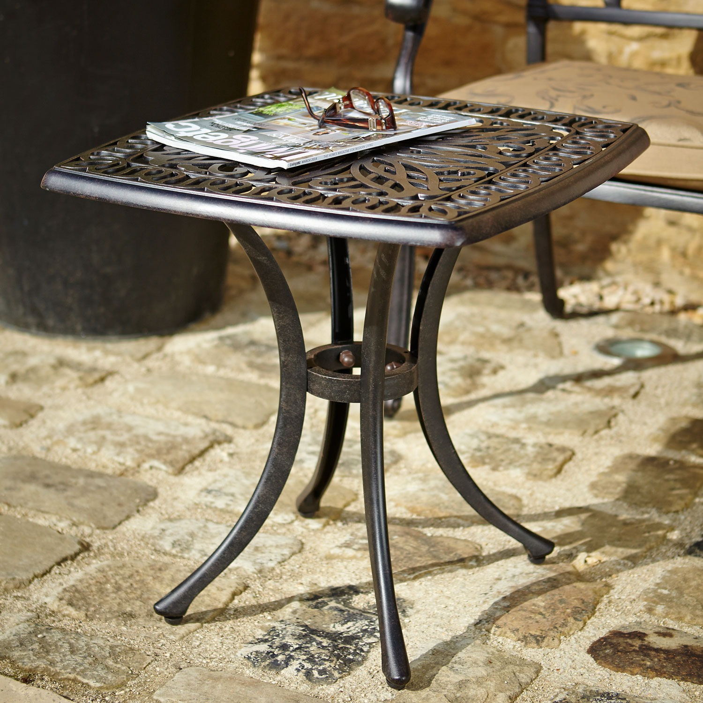 Amalfi square side table