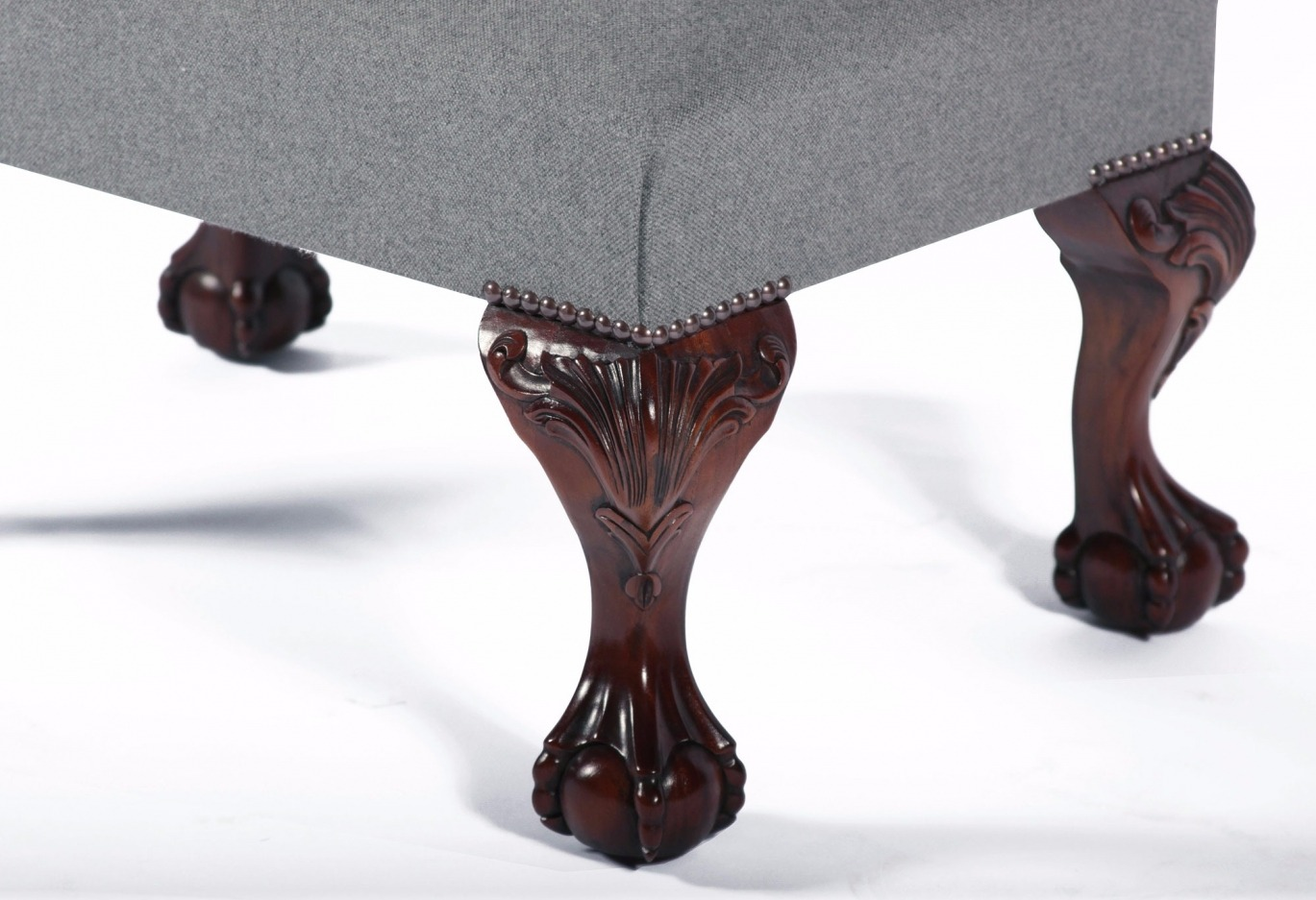 Footstool with leg options