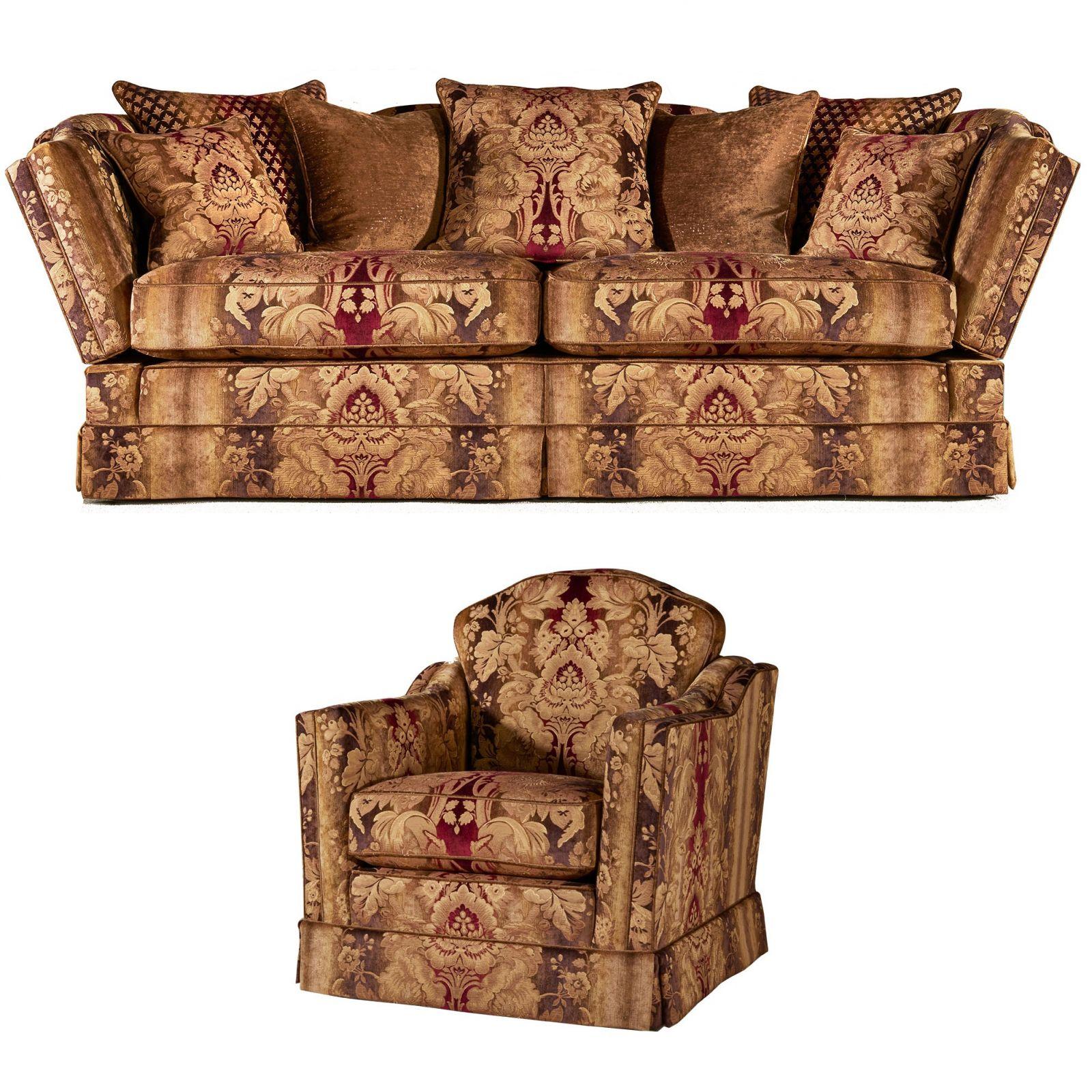 Dawson 3 seat knole + chair