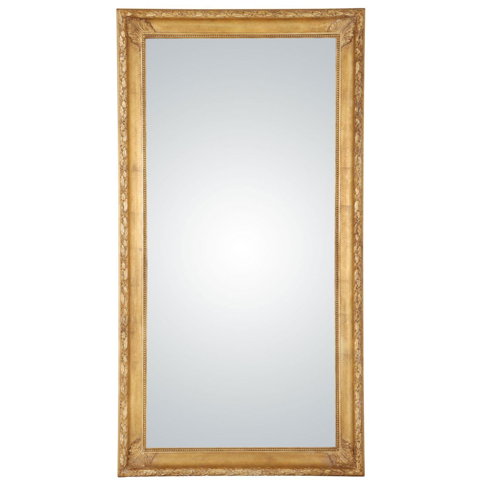 Victorian hand-made mirror