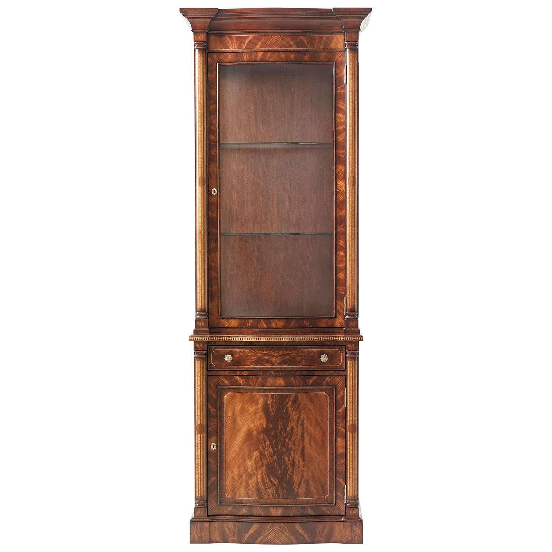 Mahogany Morado Banded Display Cabinet