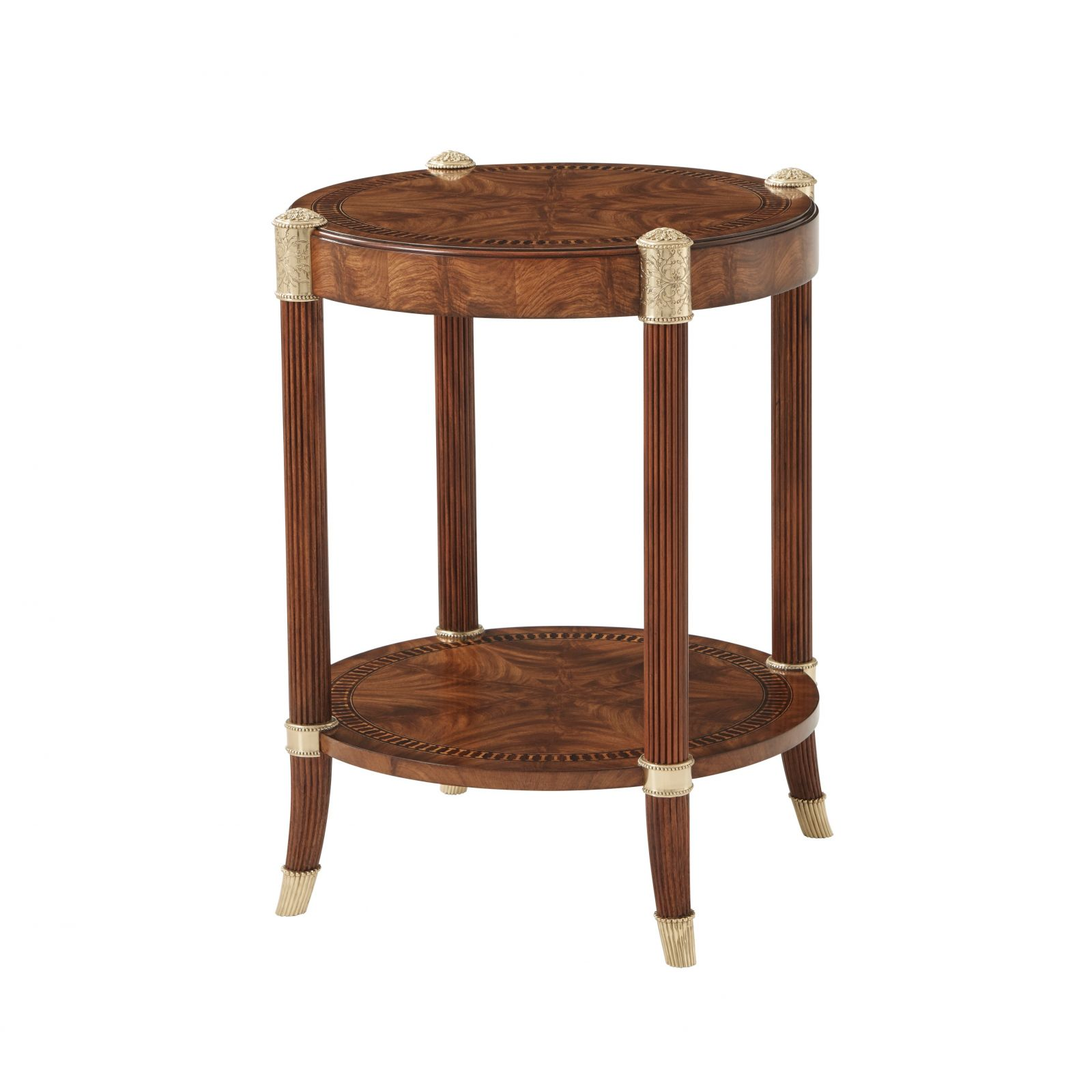 Crossbanded Side Table