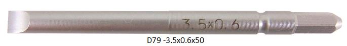D79 (-)3.5x0.6x50