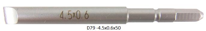 D79 (-)4.5x0.6x50