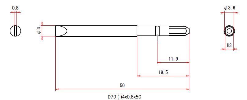 D79 (-)4.0x0.8x50
