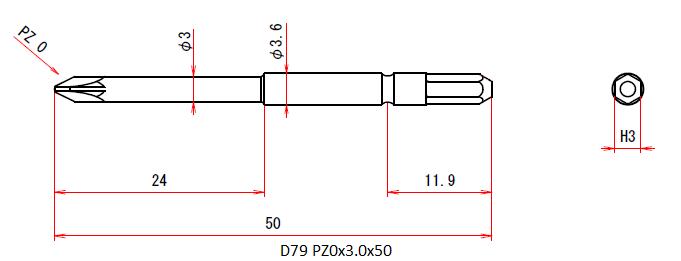 D79 PZ0x3.0x50