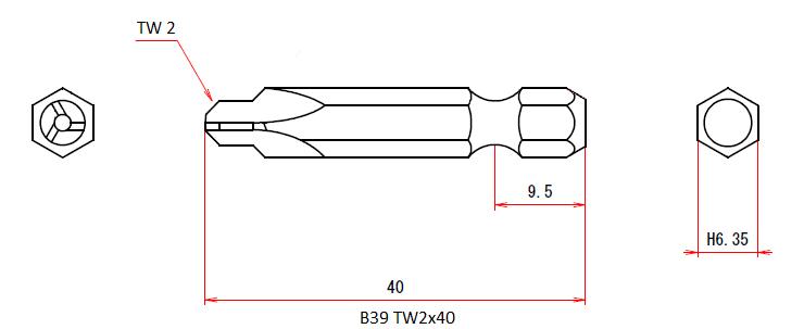B39 TW2x40
