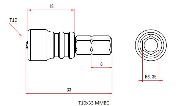 T10x33 MMBC (Magnetic Viscatch)