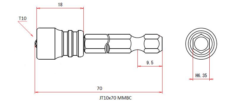 JT10x70 MMBC (Magnetic Viscatch)