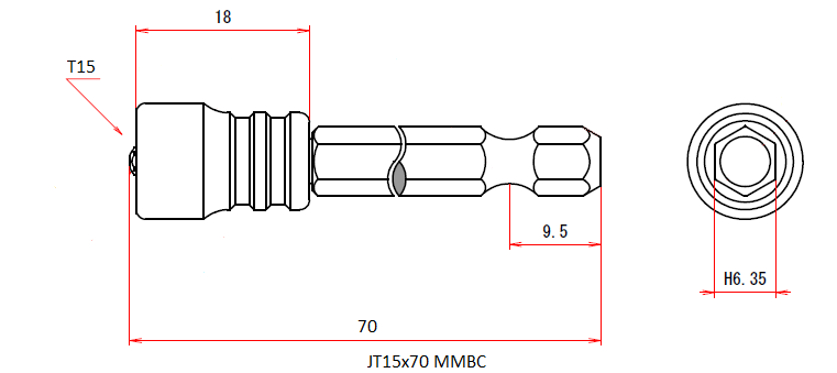 JT15x70 MMBC (Magnetic Viscatch)